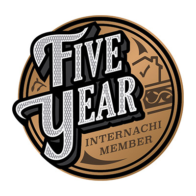 Our Jacksonville home inspectors are 5-year InterNACHI members.